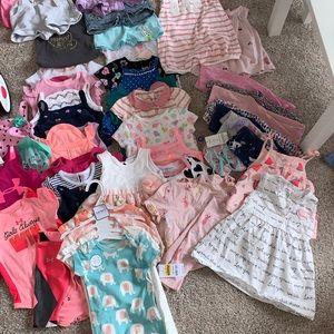 Baby girl 12 mos clothing